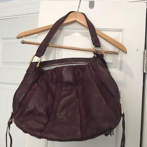 Beautiful Burgundy leather purse